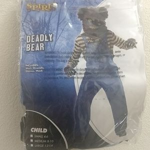 deadly bear costumes for kids